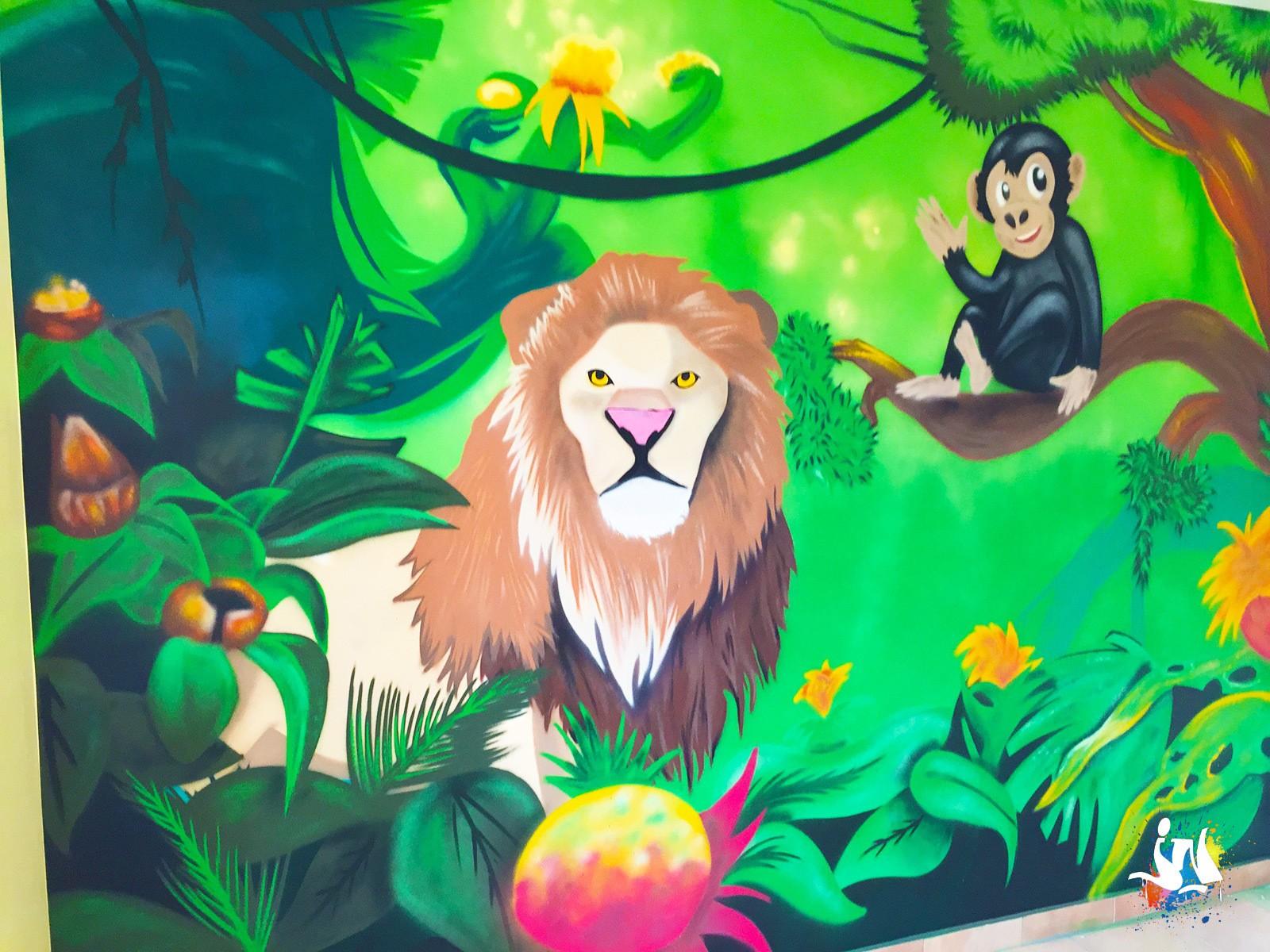 Deco Jungle Chambre Enfant décoration jungle dans une chambre d'enfant
